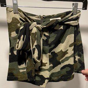 NWOT Boujee Camo Shorts
